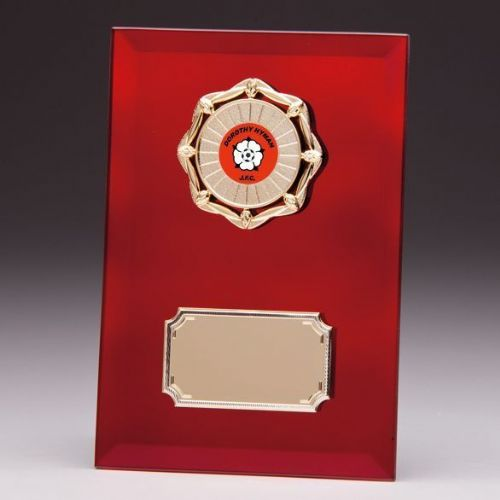 Ruby Mirage Mirror Plaque 180mm